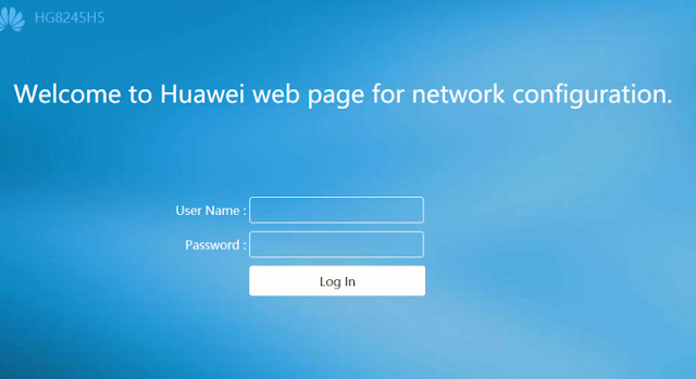 Router Huawei HG8245H5