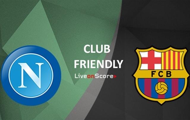 Napoli vs Barcelona - IGliveonscore