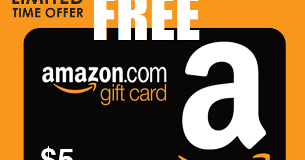 Free $5 Amazon Gift Card  Text Messaging Required