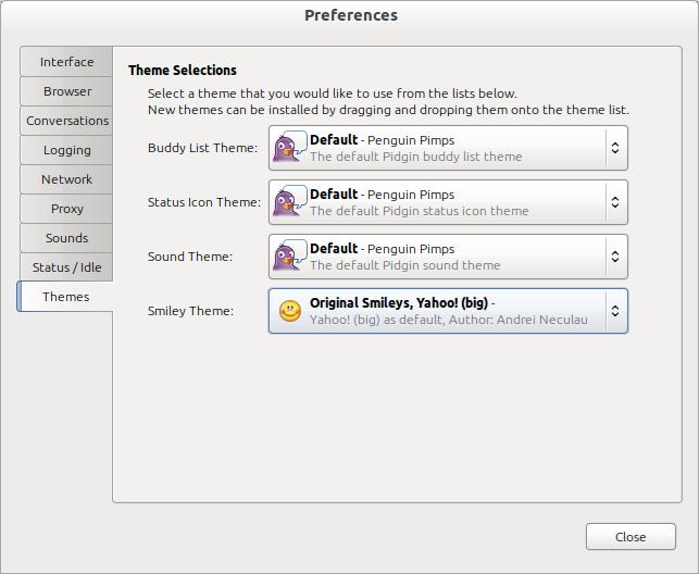 Installation Von Yahoo Messenger Emoticons Pidgin - codetreton