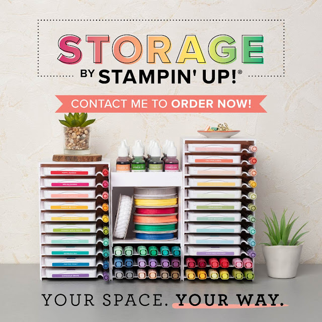 Storage By Stampin' Up! - RELEASE DATE 1 APRIL 2019