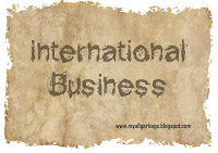 International Business Sheet