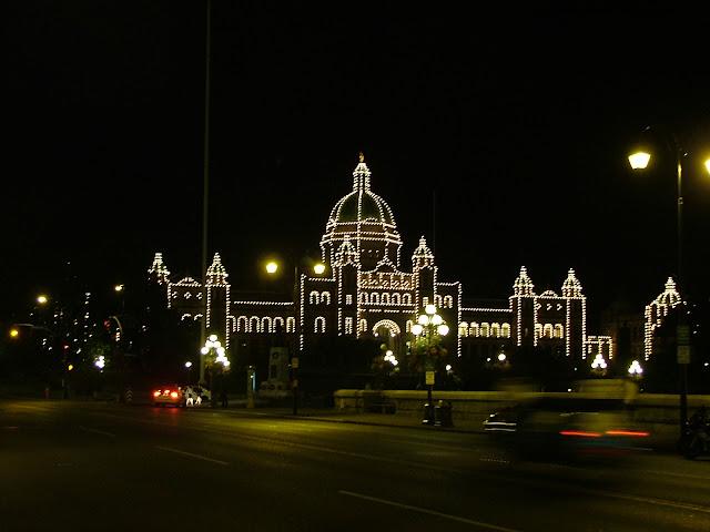 Government building in Victoria BC