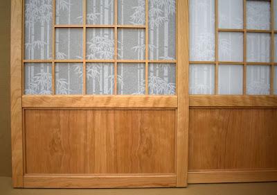 cherry figure lower door panel