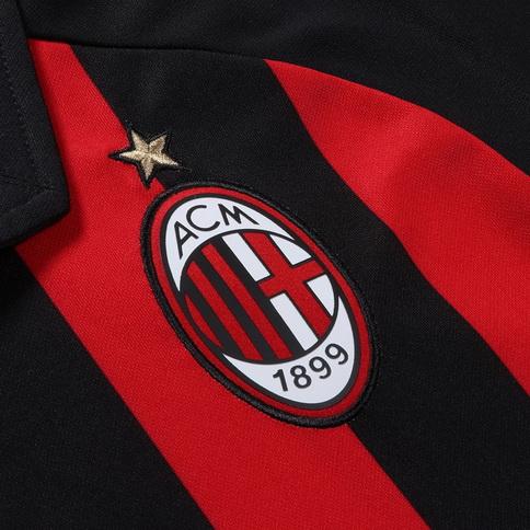 Camisetas de futbol  Nueva camisetas de AC Milan baratas 2018 2019 ... 0dc426eab87d9