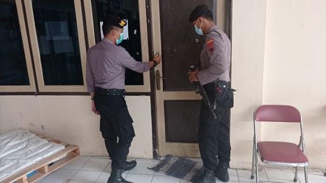 Polres Grobogan Perketat Pengamanan Sortir Surat Suara Pilkada