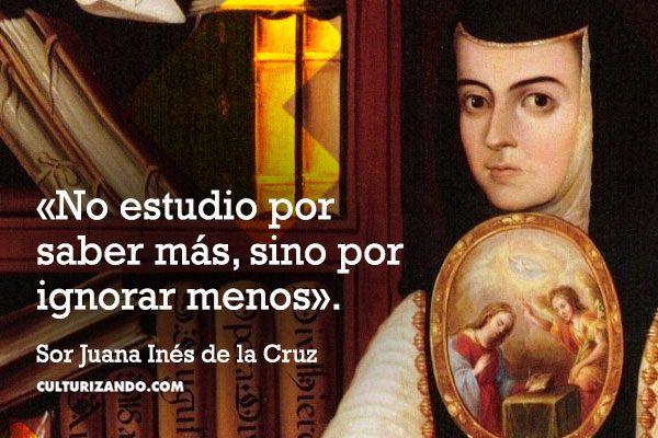 El Rincón Del Conocimiento Sor Juana Inés De La Cruz