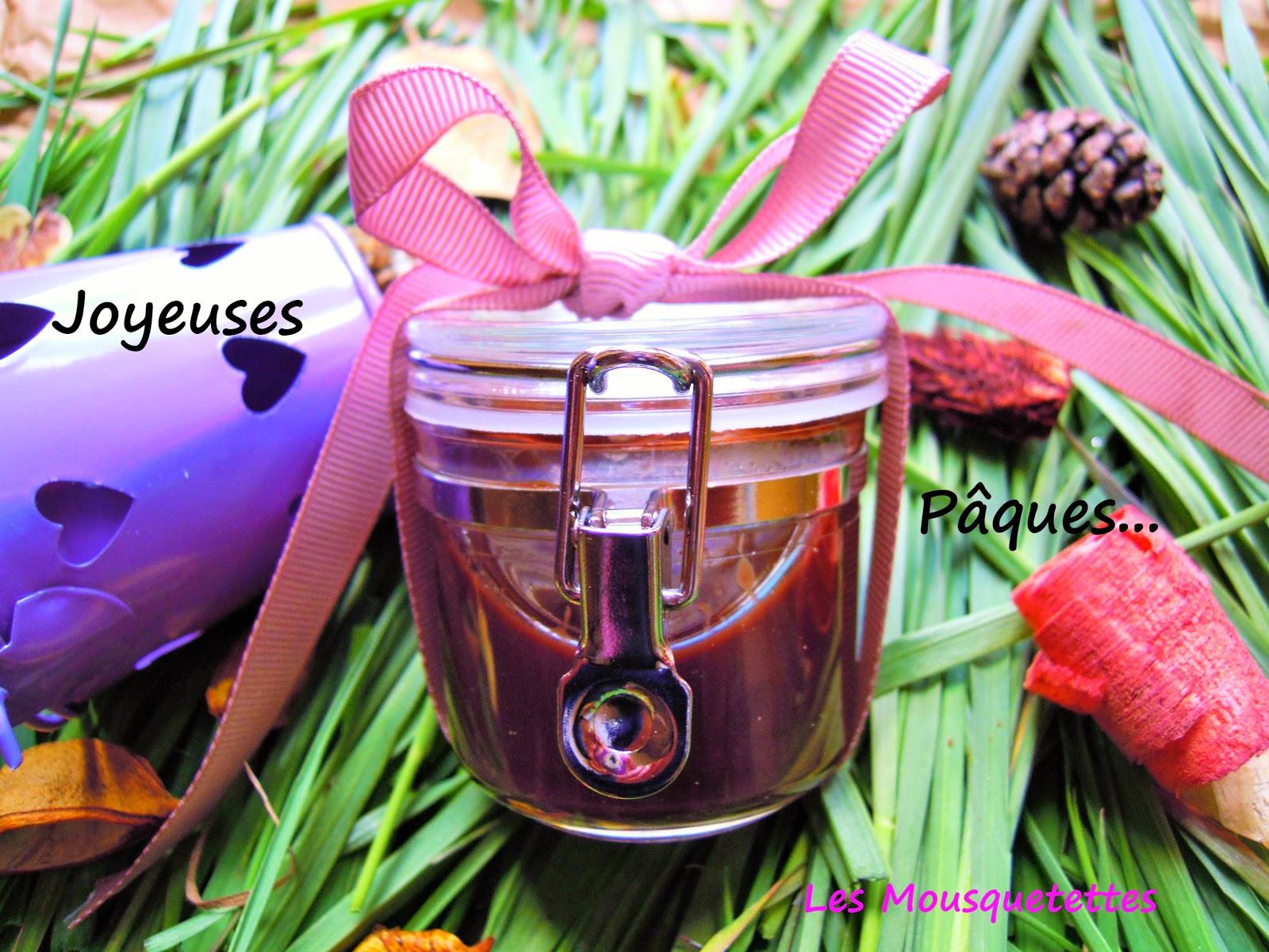 DIY Masque chocolat Pâques 2015 - Les Mousquetettes©