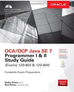 Books for Java SE 7 Upgrade exams 1Z0-805