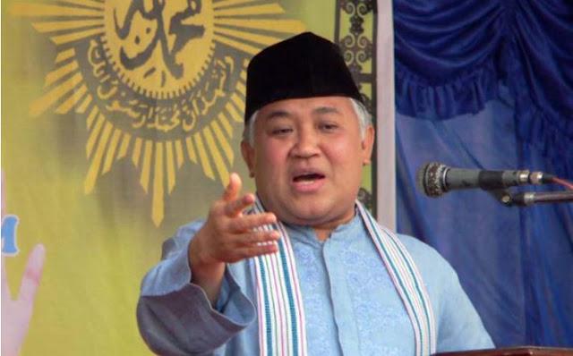 Din Dilaporkan sebagai Tokoh Radikal, Muhammadiyah Ancam GAR ITB