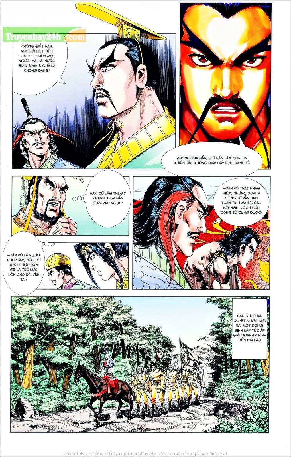 Tần Vương Doanh Chính chapter 24 trang 16