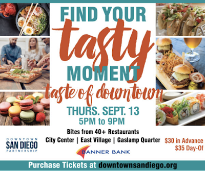 Save On Passes & Enter to win tickets to Taste of Downtown - September 13!