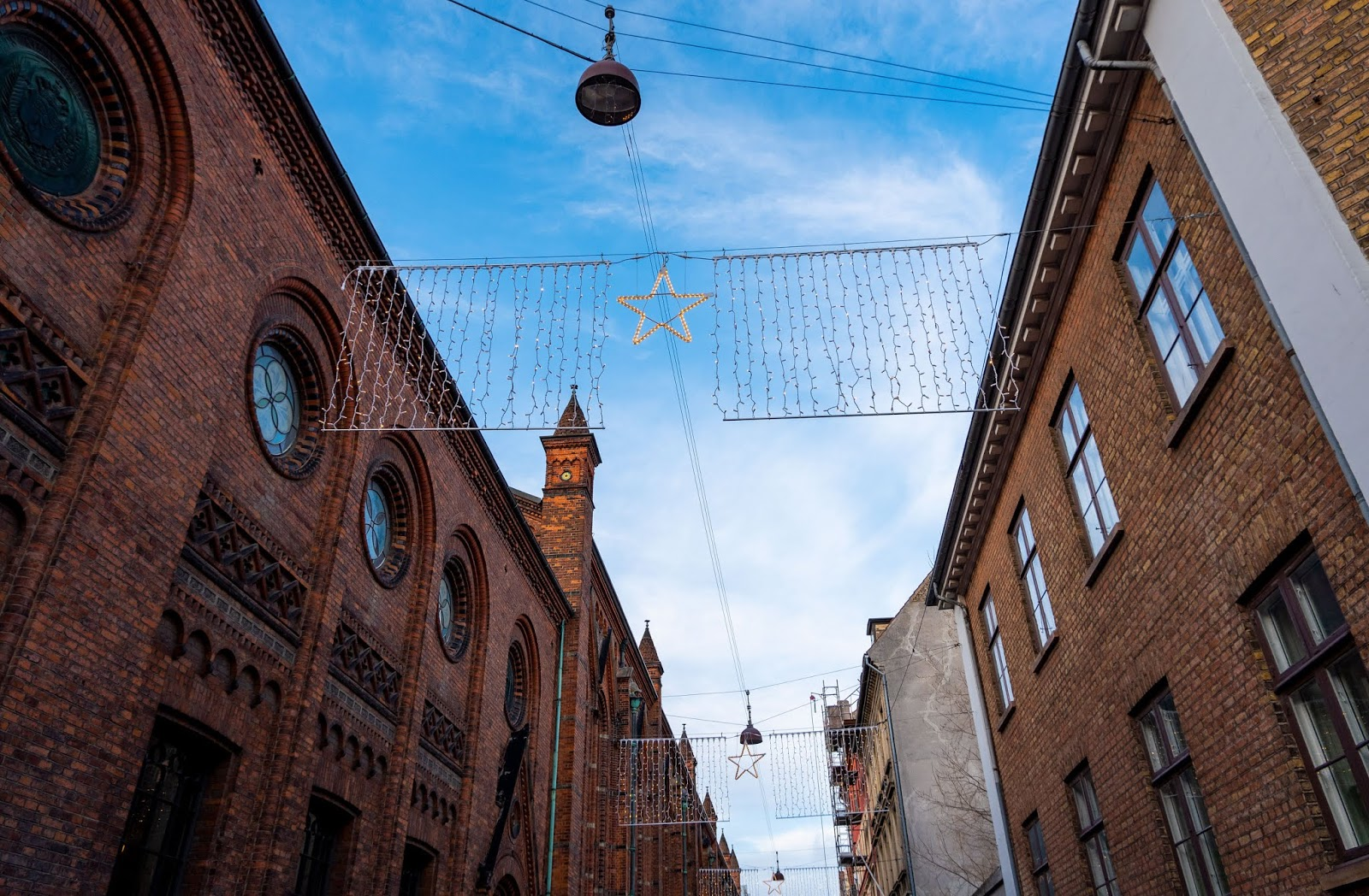 Downtown Copenhagen in December