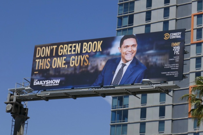 Dont Green Book this Trevor Noah Emmy FYC billboard
