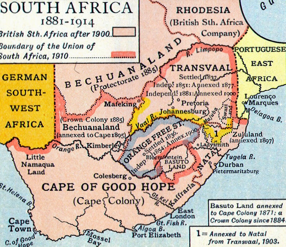 Southwest Africa Map.Roads To The Great War South Africa S Victory In Southwest Africa