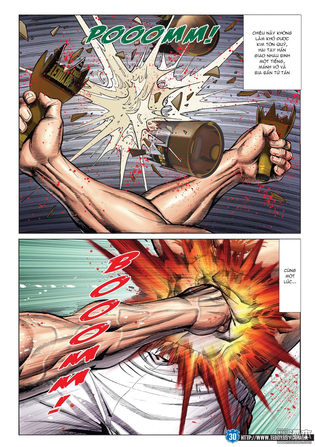 Người Trong Giang Hồ chapter 1971: đại phi ác chiến kim tôn quý 2 trang 27