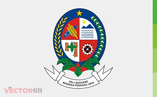 Kabupaten Deli Serdang Logo - Download Vector File CDR (CorelDraw)