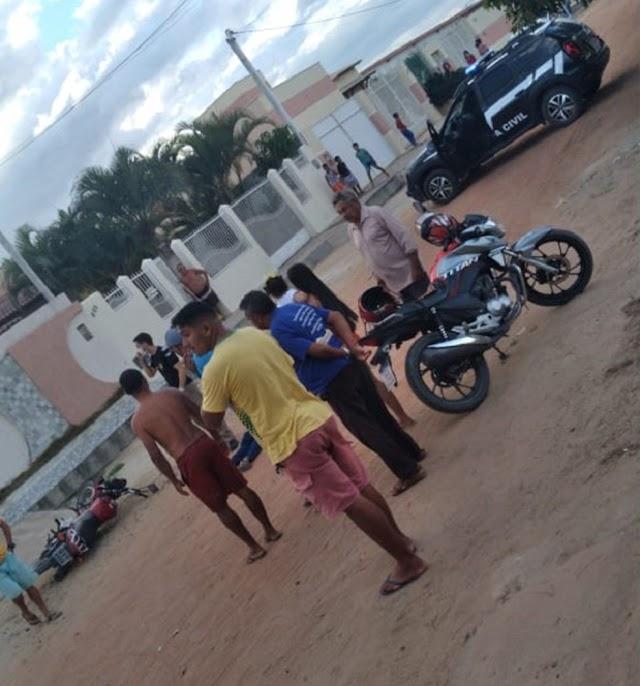 Policial militar é preso em flagrante após matar ex-marido da companheira no interior do RN