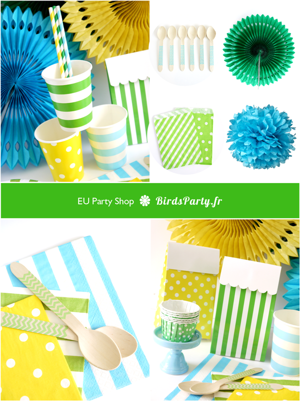 BirdsParty.fr | Articles des Fête, Art de La  table, Décorations