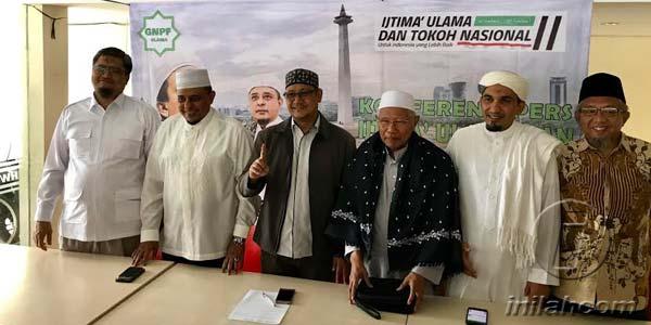 Ijtima Ulama II Minta Prabowo-Sandi Teken Ini..