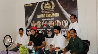 वादा जैसे छोटे शहरों में इंटरनेशनल फिल्म फेस्टिवल का आयोजन पहली बार करना जिले के लिए गौरव की बात है