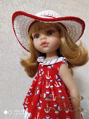 Шляпка для куколки