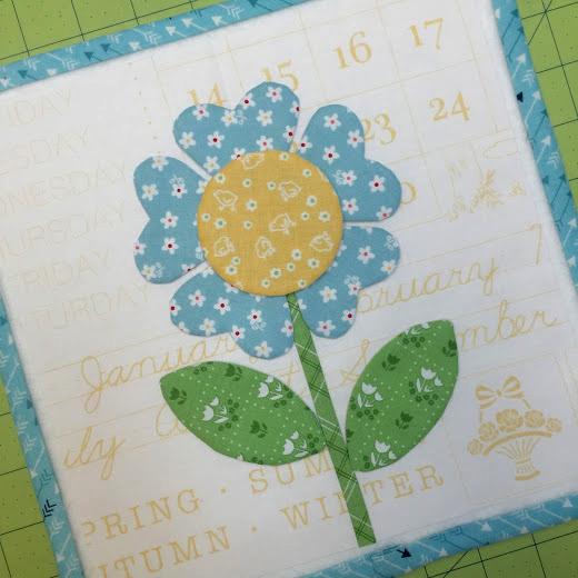 BLOOM Sew Along - Block Fifteen designed by Lori of Bee In My Bonnet