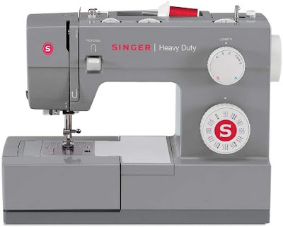 Maquina de coser para tapizados caseros