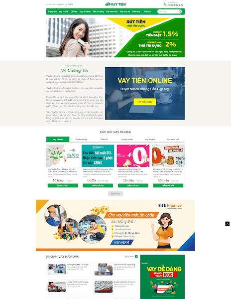 Theme blogger vay tiền online