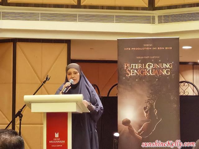 Filem Slapstick Puteri Gunung Sengkuang, HSF Production, My Asia Empire, Dato Mohammad Faizal,  Rusilawati Hassan, Shila Mambo, Filem, Lifestyle