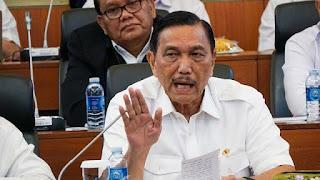 Luhut Ngaku Tahu Penunggang Demo: Kalau Mau Jadi Presiden Nanti Tahun 2024