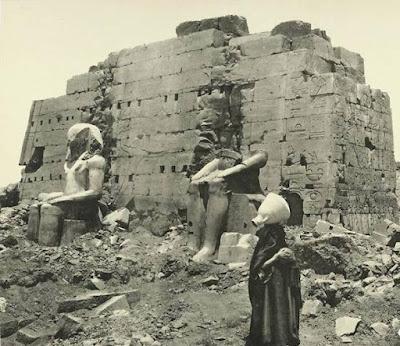 معبد الكرنك قديما