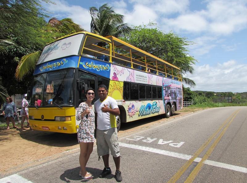 NatalBus, passeio ônibus panorâmico Natal