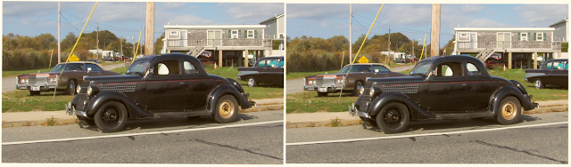 Ford 1935 five 3d relaxed view stereograph