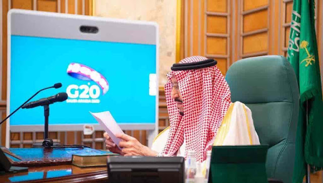 G20 Virtual Summit on Coronavirus led by King Salman of Saudi Arabia