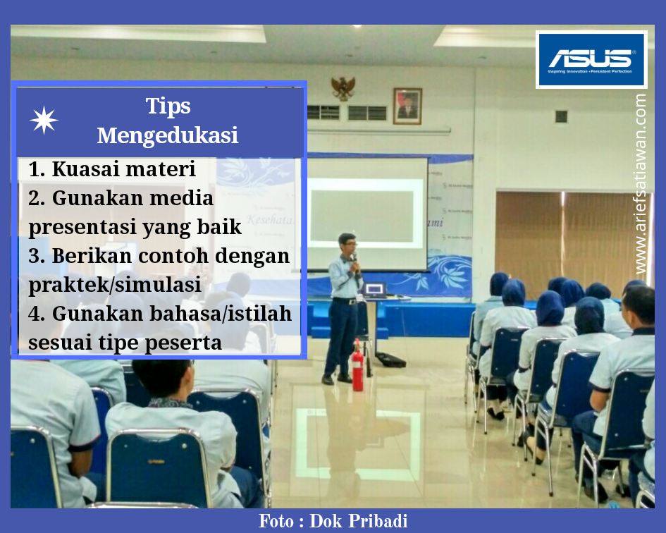 tips mengedukasi dengan asus