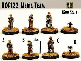 HOF122 Media Team from Alternative Armies