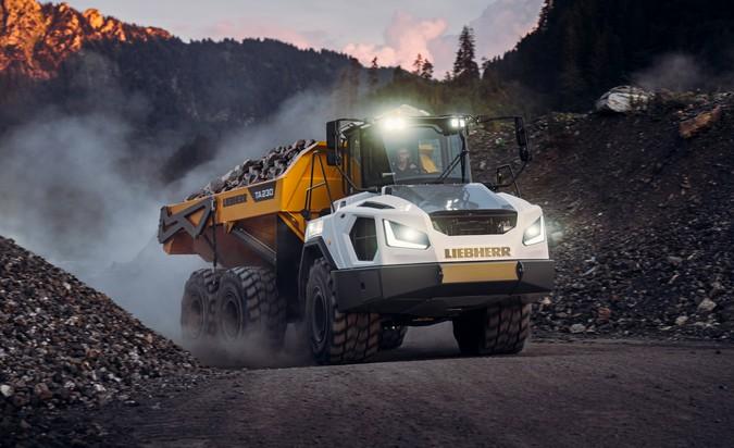 Liebherr apresenta nova geração de caminhões articulados