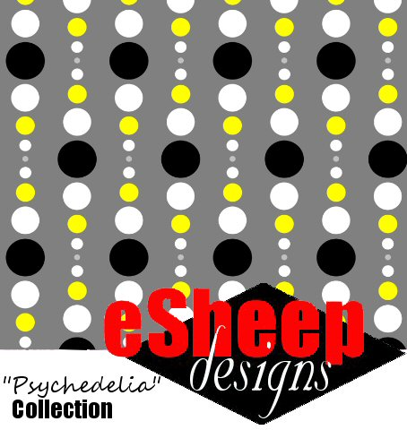It's a Double Dotty World (Yelegance) fabric by eSheep Designs
