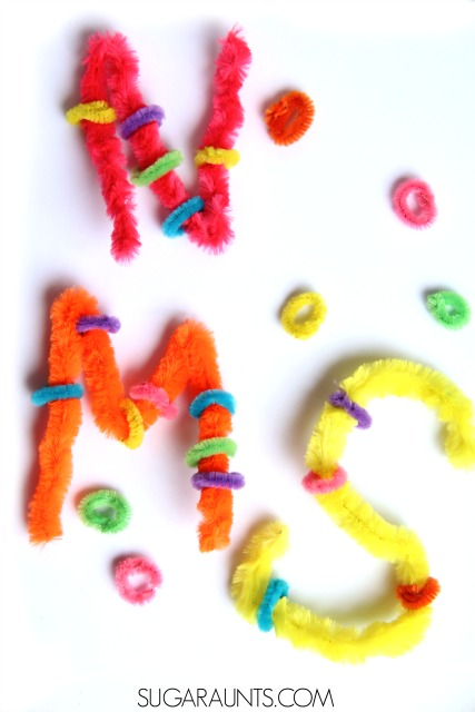 This fine motor activity works on open web space of the thumb and finger in the hand. An open web space is important for fine motor tasks like handwriting and tool use.  Kids will love these ideas to work on an open web space, from an Occupational Therapist.