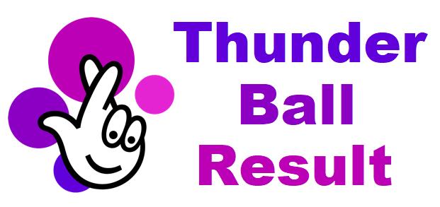 Thunderball result