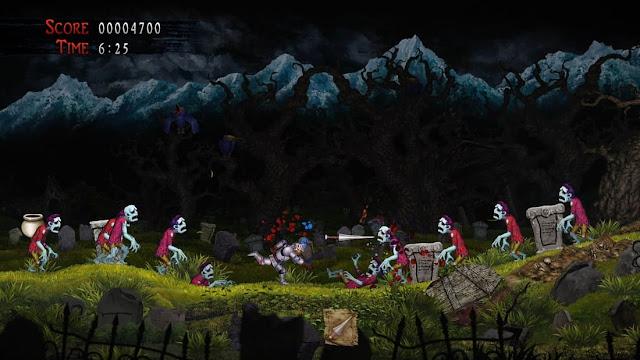 Imagem do Ghosts 'n Goblins Resurrection