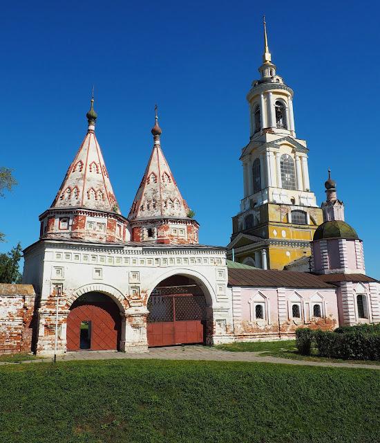 Суздаль,  Ризоположенский монастырь (Suzdal, Rizopolozhensky monastery)