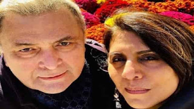 Rishi Kapoor and wife Neetu Kapoor come back India from New York