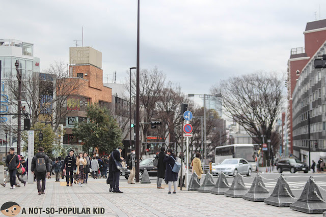 Shibuya - Shopping District in Tokyo