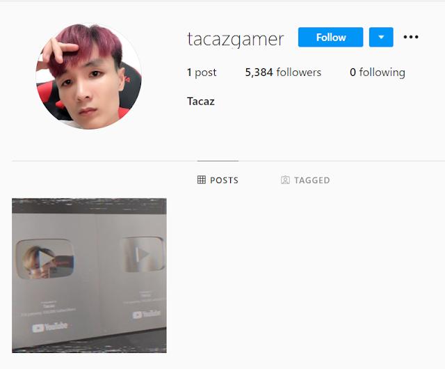 Tacaz Instagram ID