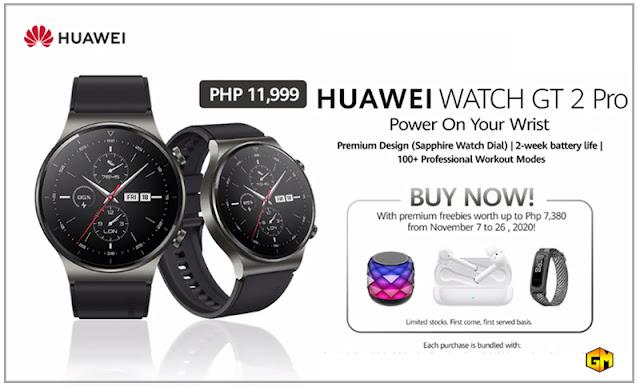 Huawei Watch GT 2 Pro smartwatch Gizmo Manila