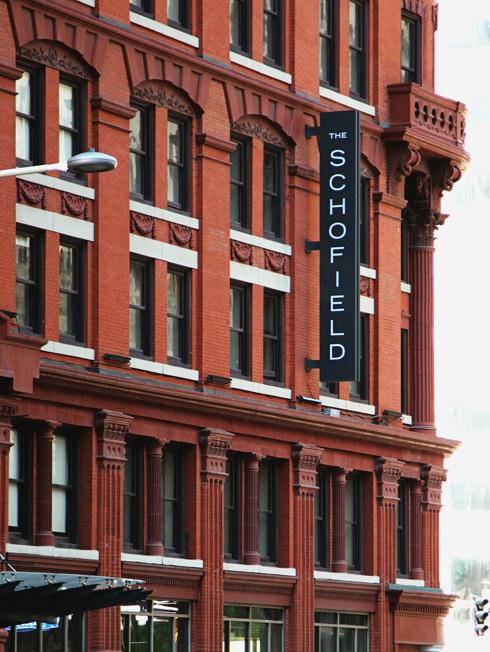 Schofield Hotel Cleveland Ohio