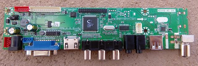Placa Universal de LCD HDVX9-AS