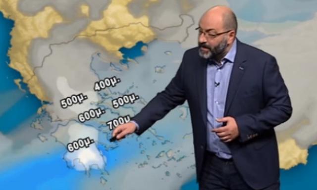 Ερχεται κρύο εξπρές και πολύ δυνατοί άνεμοι τις επόμενες 48 ώρες  (βίντεο)